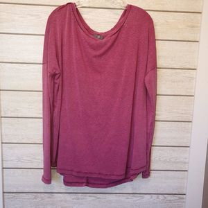 True Craft Distressed Long Sleeve Tee - Size Large